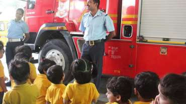 """Field Trip to """"Fire Station"""" for our Preschoolers"""