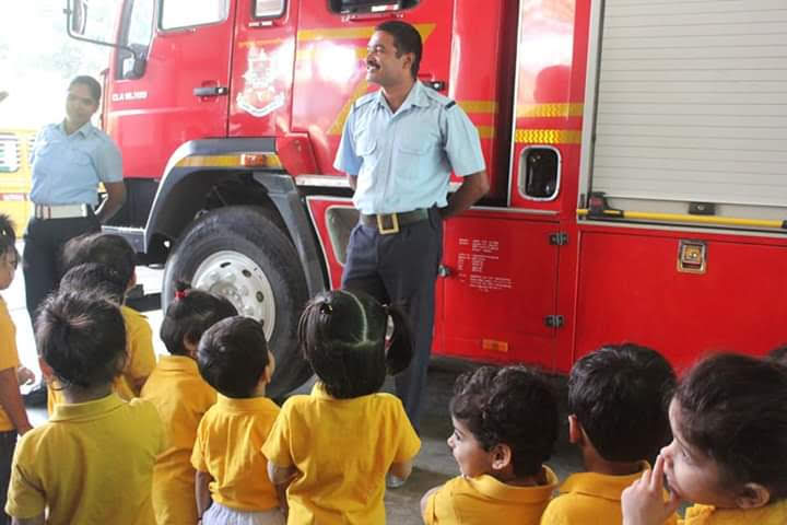"Field Trip to ""Fire Station"" for our Preschoolers"