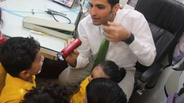 Visit to Doctor's clinic