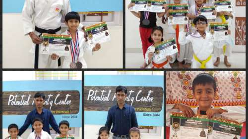 Heartiest congratulations to our lil Karate Champs