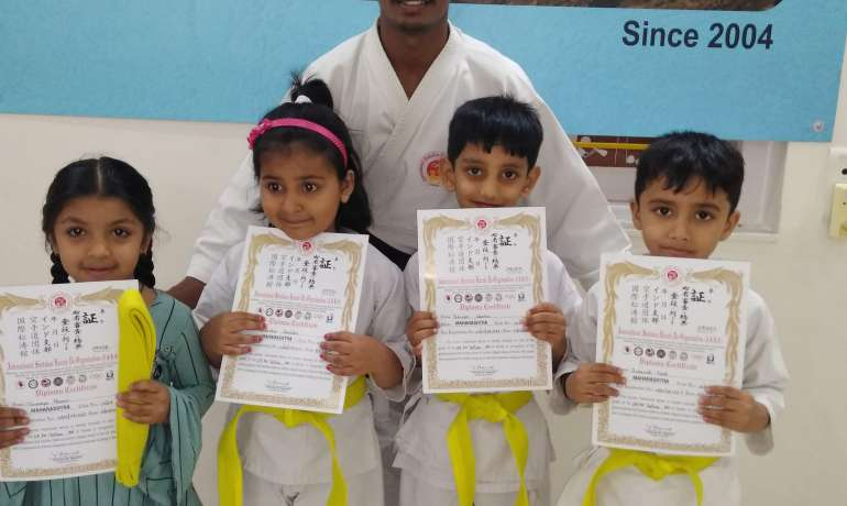 PAC congratulates lil Karate champs