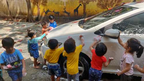 Car wash activity